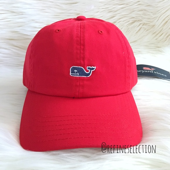 cfaa6ae2 Vineyard Vines Accessories | Parade Red Classic Baseball Cap | Poshmark
